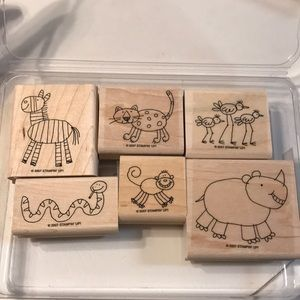 NEW Stampin' Up! Set Zoofari